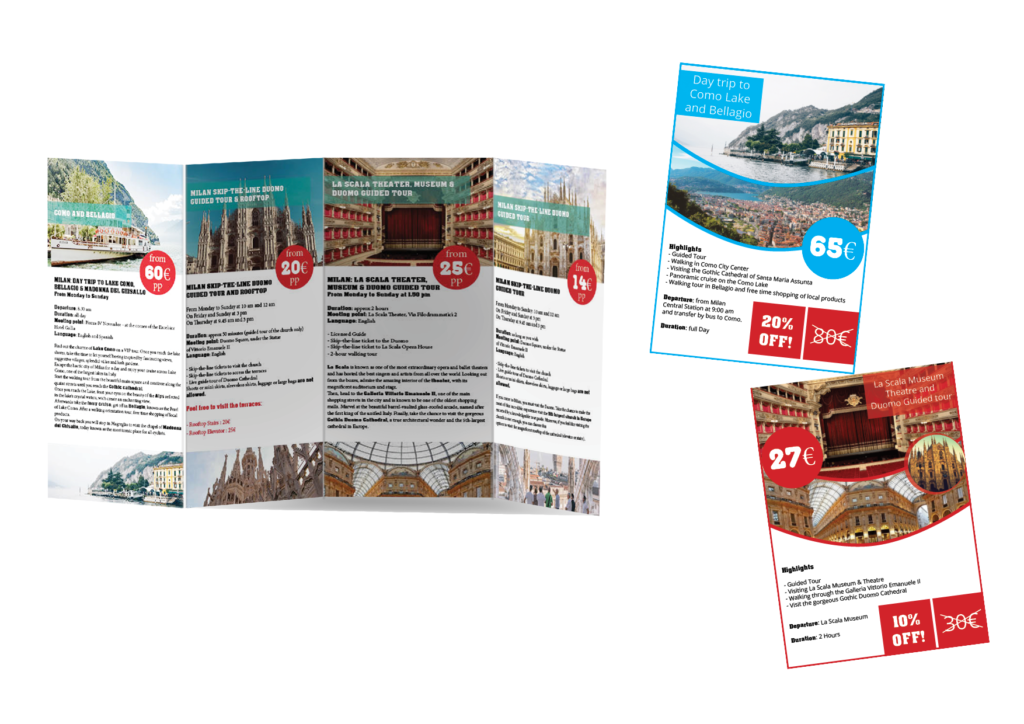 Brochure Touring with us